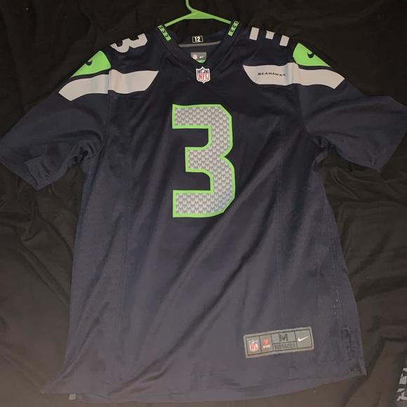 on sale 378ba 3a26e Seattle Seahawks Russell Wilson jersey